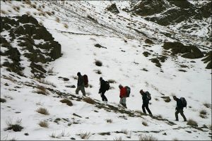 Homestaytrekking im Winter