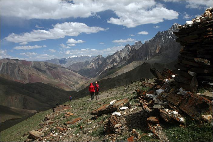 Trekking Lamayuru-Chilling