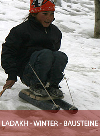Bausteine Ladakh Winter