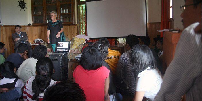 Vortrag Nana Ziesche in Sikkim