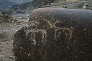 Petroglyph Ladakh